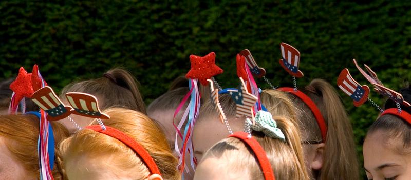 4th July ceremony at Washington Old Hall