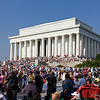 Lincoln Memorial and Crowd