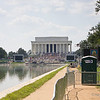 Lincoln Memorial and Reflecting Pool After Event