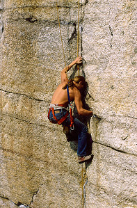 Foops, early '80's unknown climber