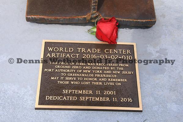 9/11/2016 - Greenawalds 9/11 Memorial