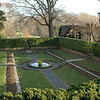 Agecroft's grounds reflect the order and opulence of English gardens.