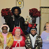 Mrs. Santa Claus, Young Lady of the Regiment, Young Buffalo Soldiers and friend.