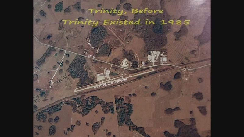 Odessa / Trinity Aerial view