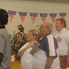 "June 19, 2012                              1st Annual Juneteenth Celebration<br />                                                       Adam Diaz Senior Center, Phoenix<br /> <br />               The seniors singing ""America"" with the Buffalo Soldiers of the Arizona Territory."