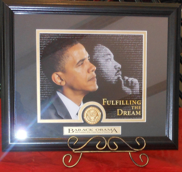 June 19, 2012                        1st Annual Juneteenth Celebration<br /> <br />                                 President Barack Obama and Dr. Martin Luther King, Jr.