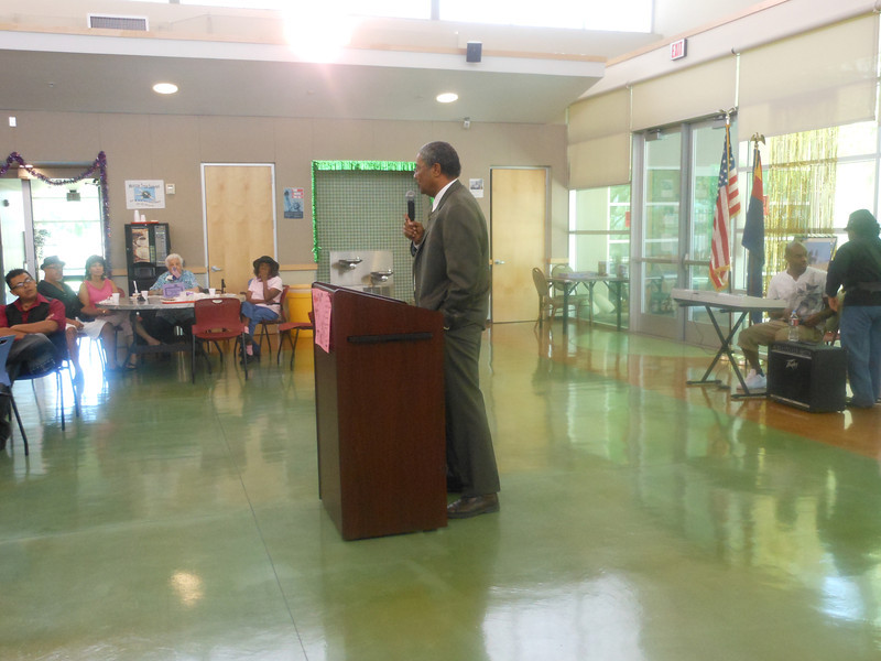 June 19, 2012                          1st Annual Juneteenth Celebration<br />                                                   Adam Diaz Senior Center, Phoenix<br /> <br />                                                Michael Williams, Guest Speaker