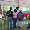 June 19, 2012              1st Annual Juneteenth Celebration<br />                                       Adam Diaz Senior Center, Phoenix, AZ<br /> <br /> Cmdr Fred Marable (Buffalo Soldier) spending time with guests.