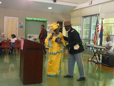 June 19, 2012                       1st Annual Juneteenth Celebration                                             Adam Diaz Senior Center, Phoenix  Kathy Matthews, Event Coordinator and Cmdr Fred Marable, Buffalo Soldier.