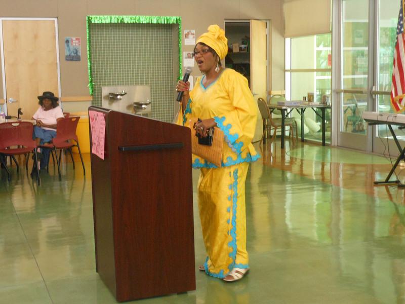 June 19, 2012                      1st Annual Juneteenth Celebration<br />                                               Adam Diaz Senior Center, Phoenix<br />  <br />                                               Kathy Matthews, Event Coordinator