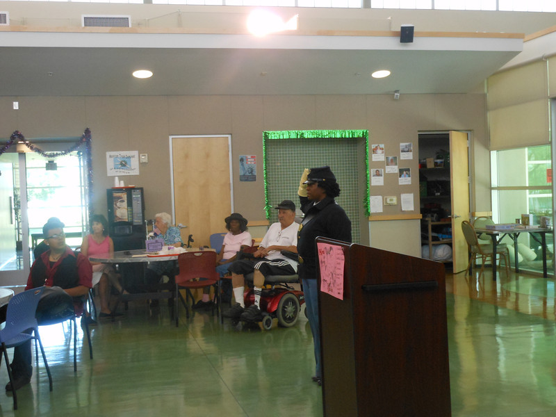 June 19, 2012                    1st Annual Juneteenth Celebration<br />                                               Adam Diaz Senior Center, Phoenix<br /> <br />                          Pvt. Michelle London-Marable, Buffalo Soldier presentation