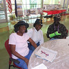 June 19, 2012                    1st Annual Juneteenth Celebration<br />                                          Adam Diaz Senior Center, Phoenix, AZ<br /> <br /> Pvt. Michelle London-Marable (Buffalo Soldier) greeting the guests.