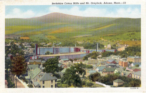 Adams Berkshire Cotton Mills