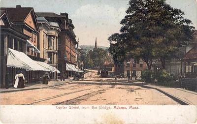 Adams Center St from Bridge