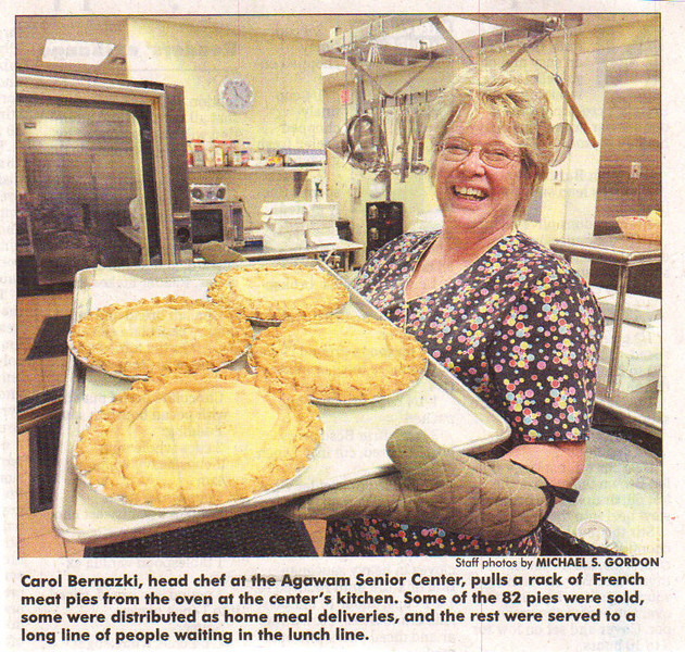 Agawam, Bernazki, Carol Head Chef Aawam Senior Center