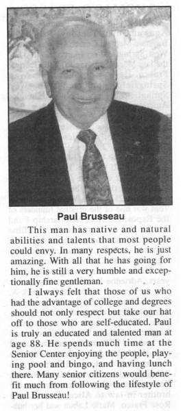 Agawam, Brusseau, Paul