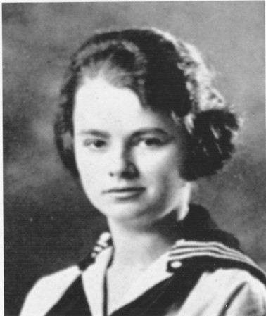 Agawam, LaFrancis, Edith as young girl