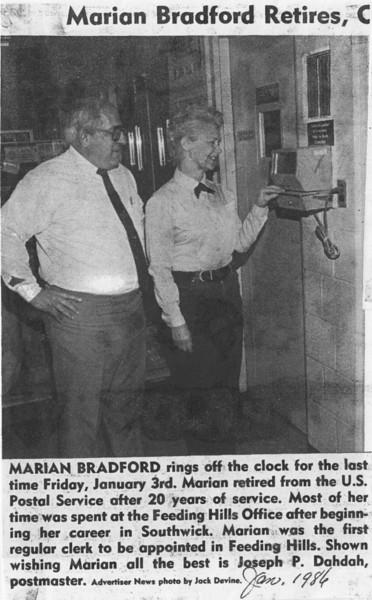 Agawam, Bradford, Marion Retires