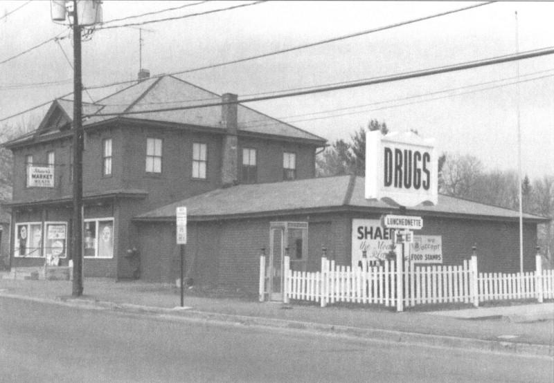 Feeding Hills Shaer's Market 1970