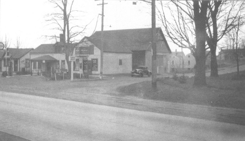 Agawam So St and Main 1936