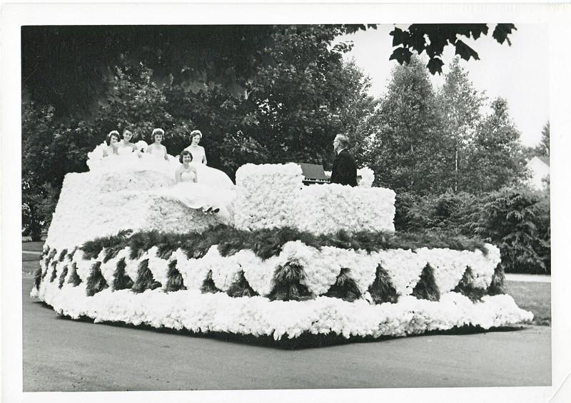 Agawam 1955 Parade Float 5
