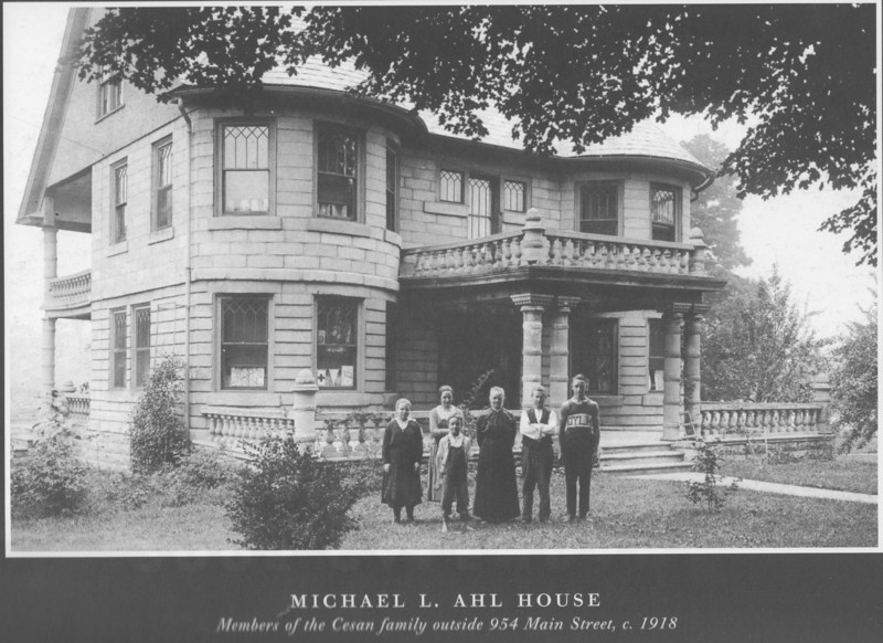 Agawam Ahl Home 1911