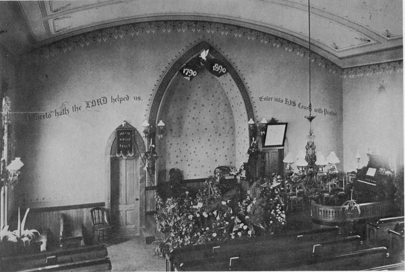 Agawam Baptist Ch 100tth Ann 1890