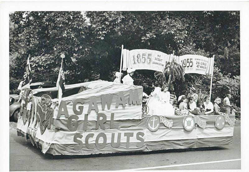 Agawam 1955 Parade Float 4