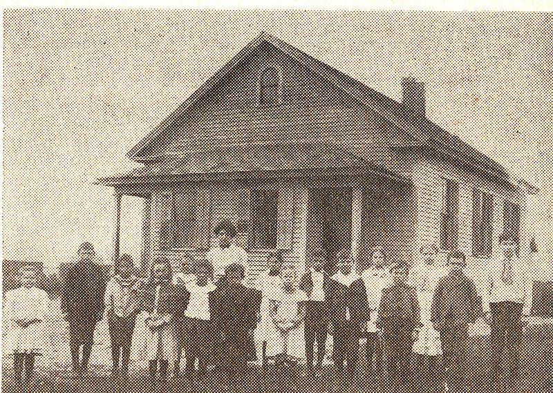 Feeding Hills West St School 1905