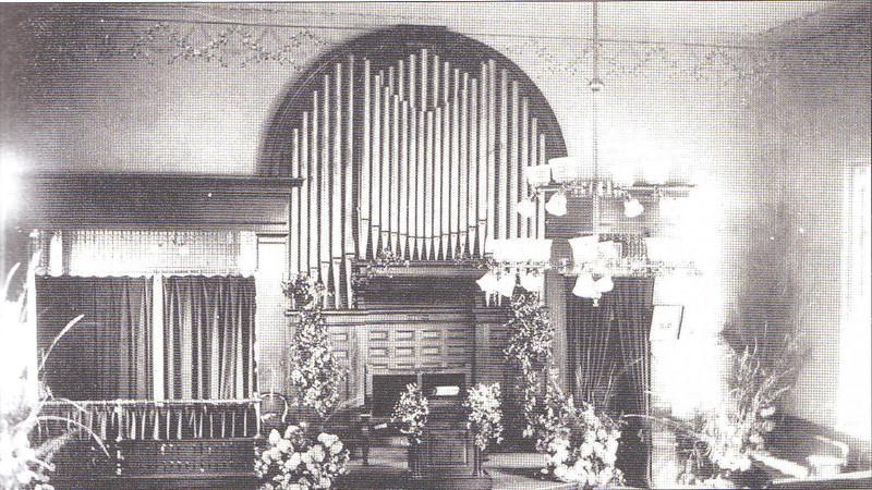 Agawam Congregational Church Interior