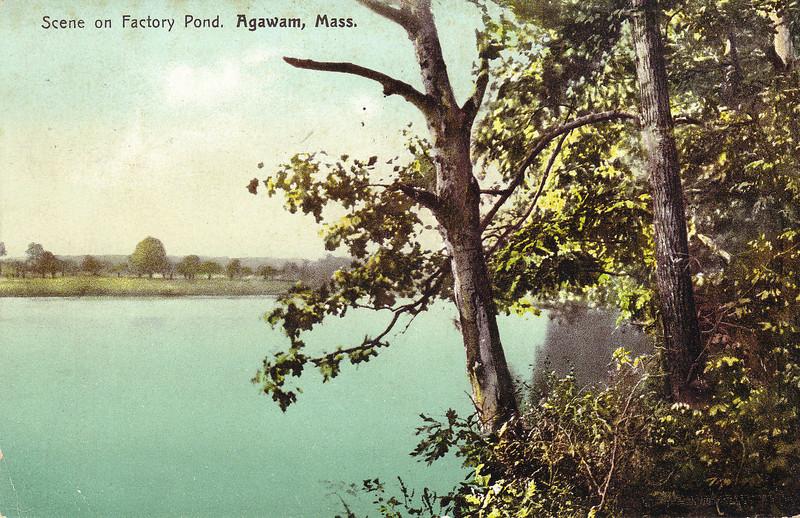 Agawam Scene Facory Pond
