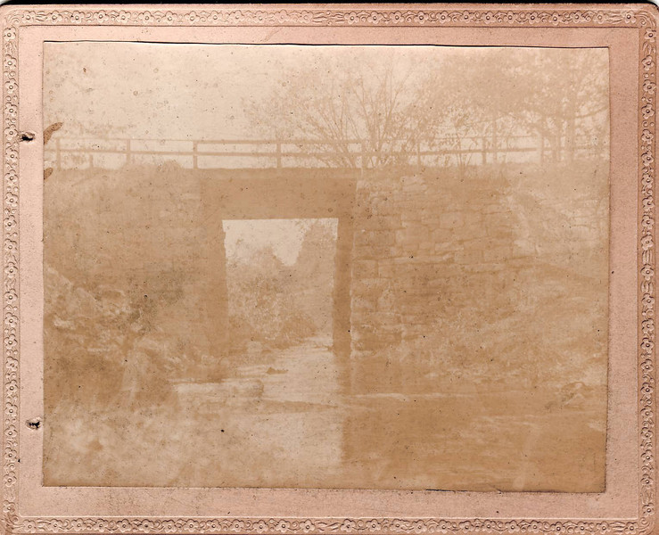 This image is from one of the 5 prints found behind the glass negatives in the Rev. Hollis A. Campbell box.