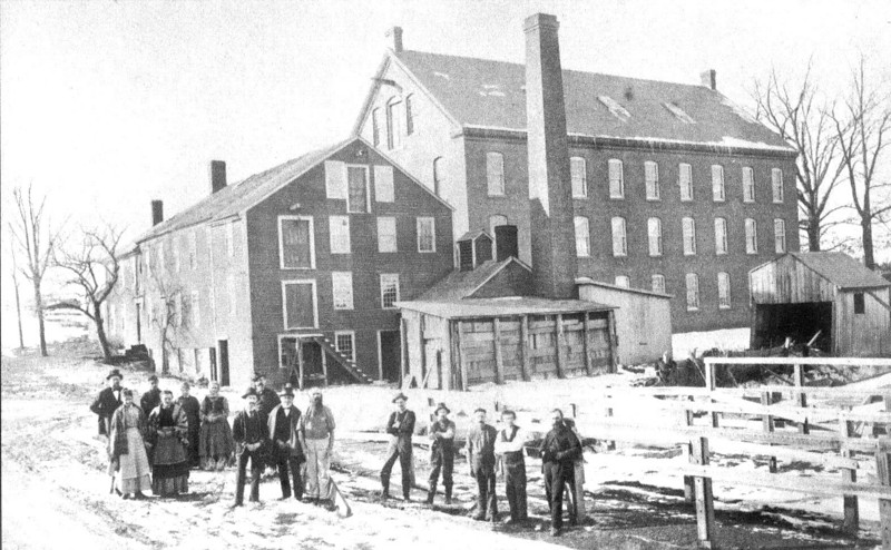 Agawam Company Before 1889 Fire