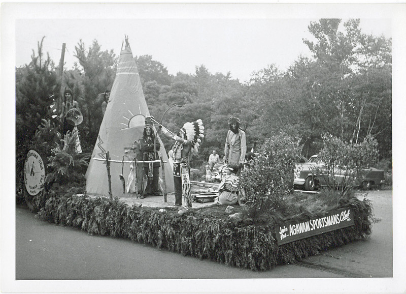 Agawam 1955 Parade Float 1