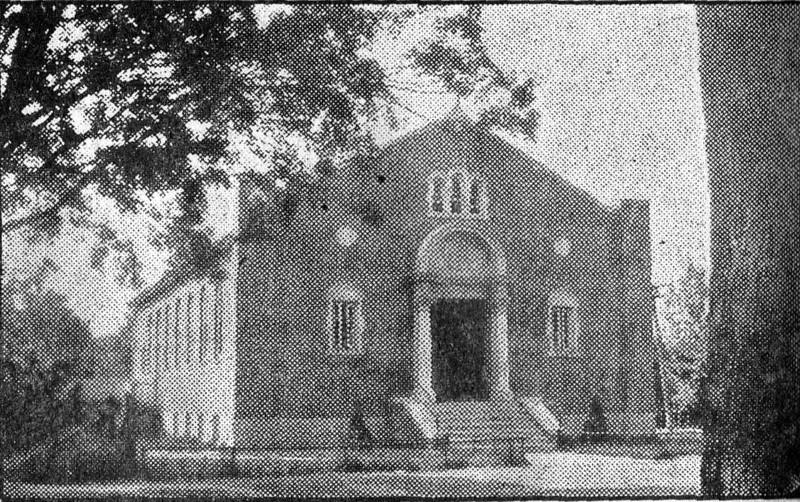 Agawam, St Anthony's Church