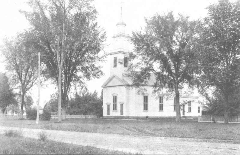 Agawam Cong Church  1895