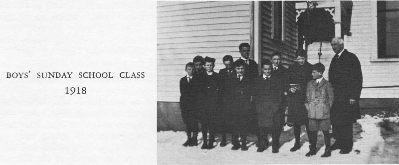 Agawam Baptist Boys's Class 1918
