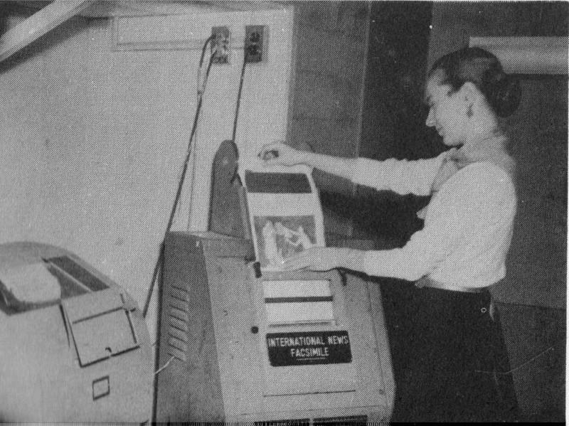 Agawam Pat Potter Facsimile Machine