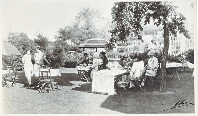 Agawam Garden Party 1927 Davis Home