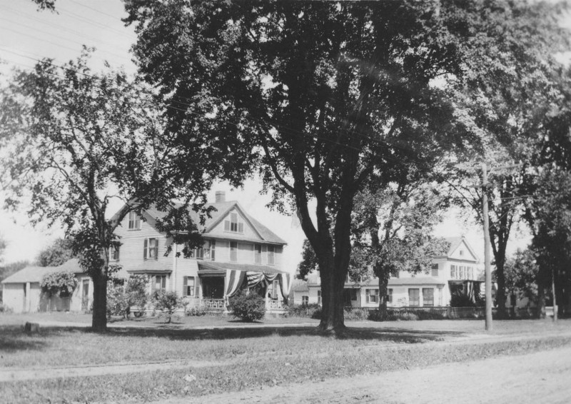 Agawam Baptist Parsonage & Hasting House