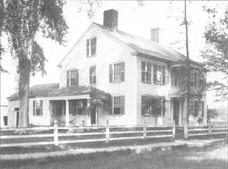 Agawam Lyman Allen House