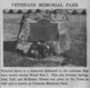 Agawam Veteran's Memorial Park