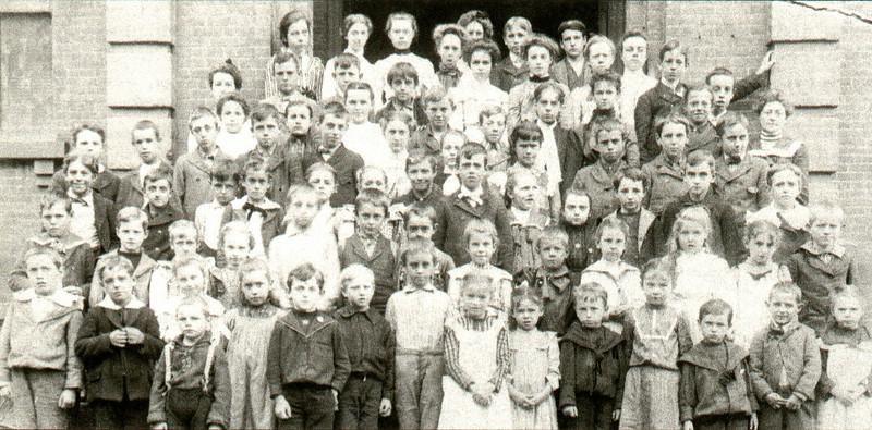 Agawam School Class Photo