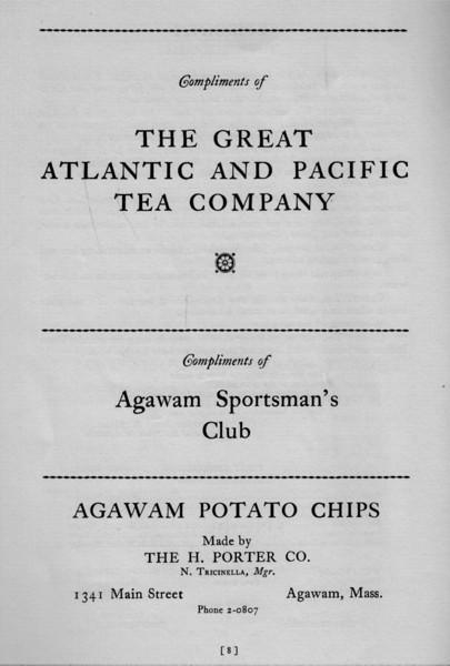 Agawam Ad 75th Ann Book 3