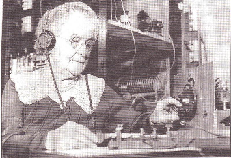 Agawam Feeding Hills Transmitting Morse Code