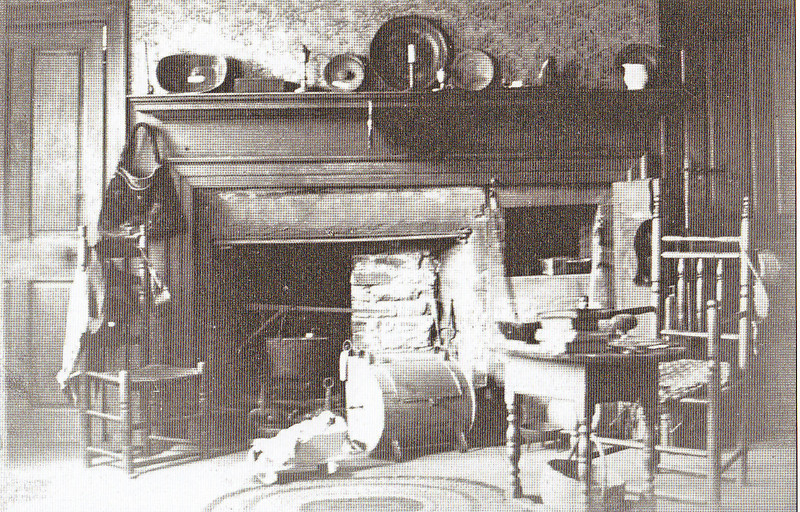 Agawam Leonard House Kitchen 1905
