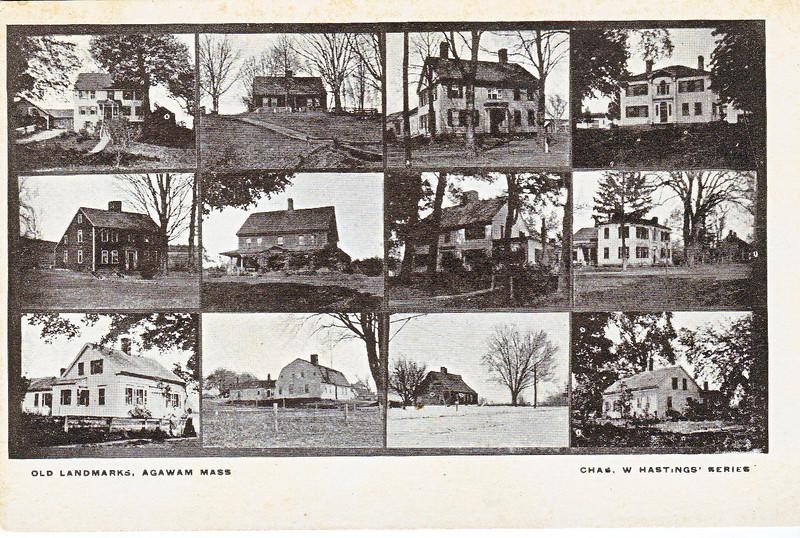 Agawam 12 Early Homes