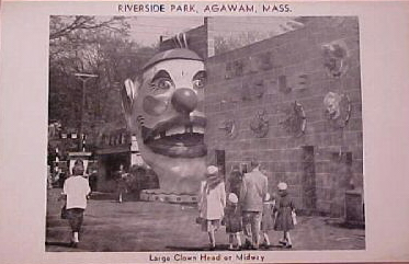 Agawam Riverside Clown Head