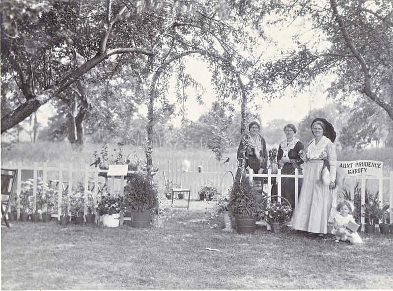Agawam Aunt Prudence Garden