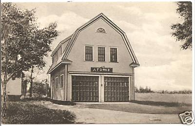 Agawam Fire House Now Museum